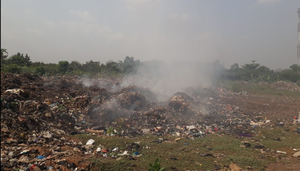 Open Burning of waste in Ghana